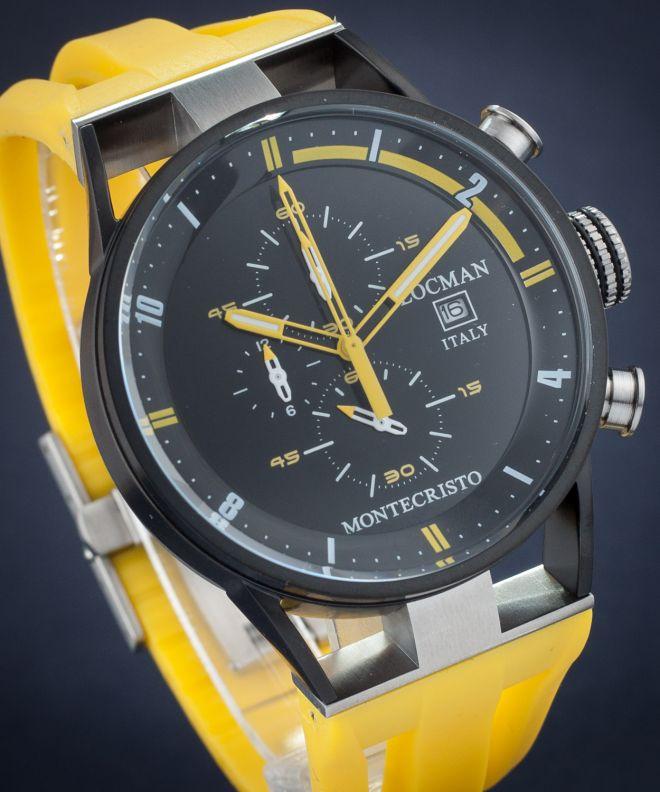 Locman Montecristo Chronograph Men's watch 0510BKBKFYL0GOY