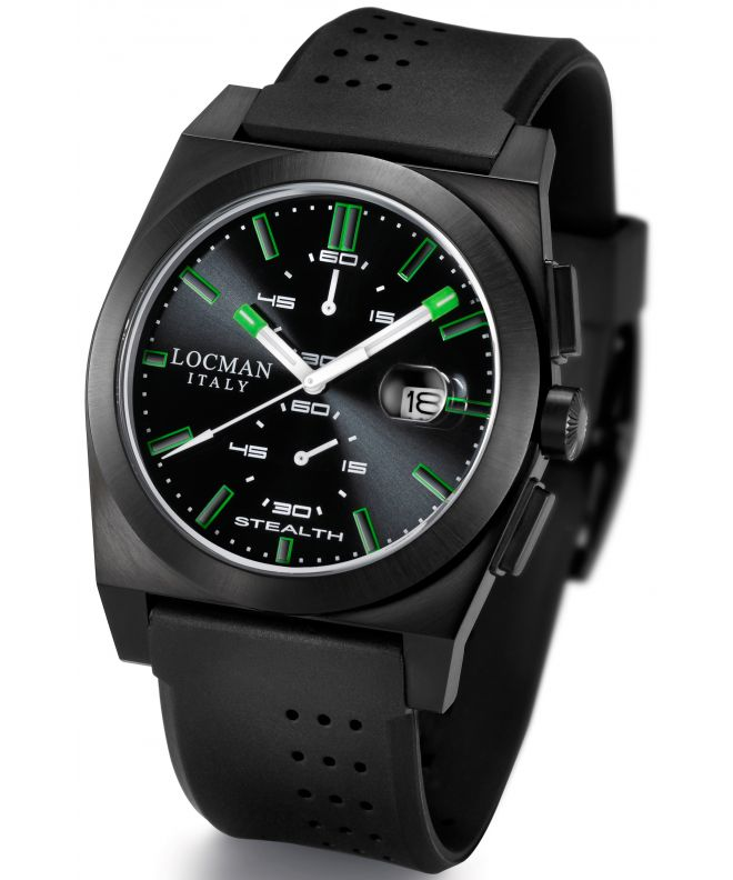 Locman Stealth Chronograph Men's watch 0202BKBKFGK1GOK