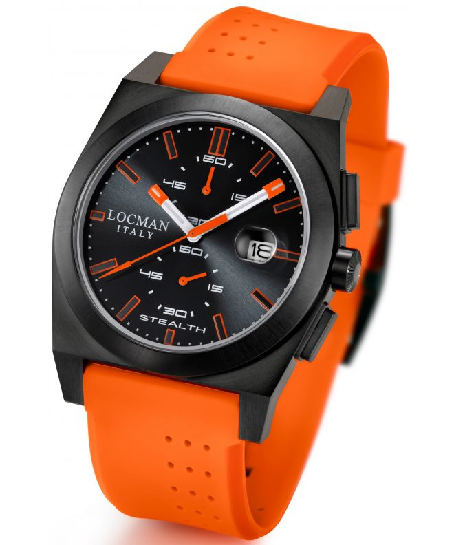 Locman Stealth Chronograph Men's watch 0202BKBKFOK1GOO