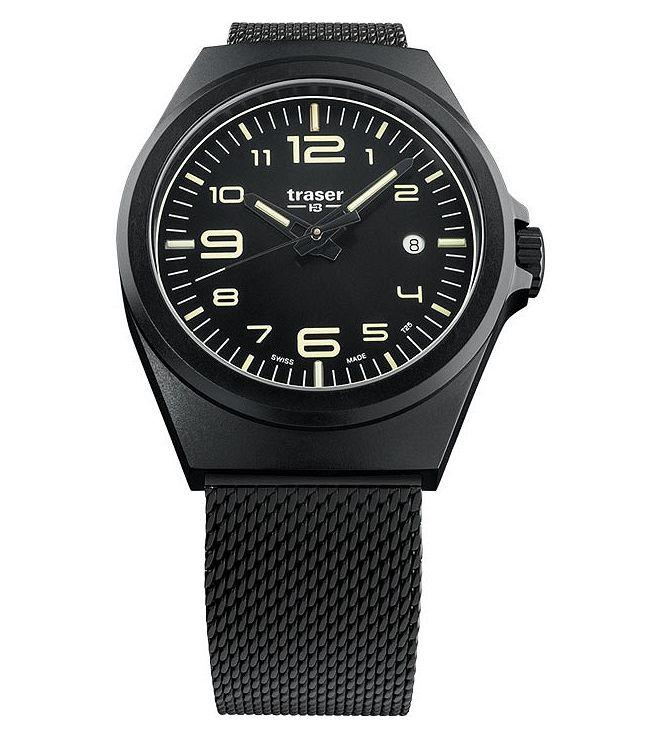 Traser P59 Essential M Black Men's Watch TS-108206