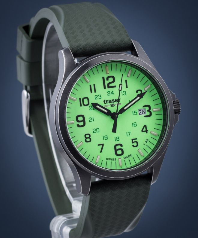Traser P67 Officer Pro Gunmetal Men's Watch TS-107424