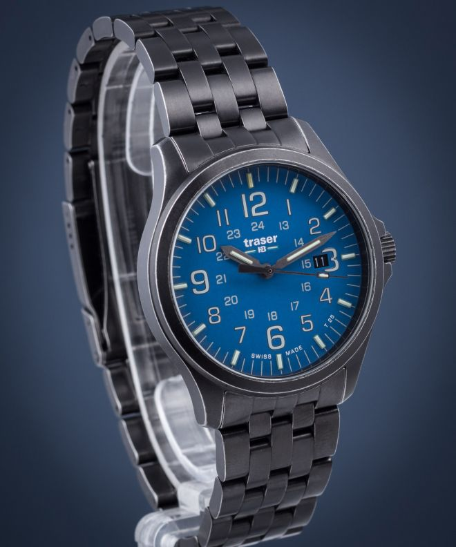 Traser P67 Officer Pro Gunmetal Men's Watch TS-108740