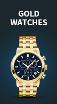 Gold women's watches